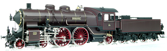 Micro Metakit 08102H - German Steam Locomotive P4 of the Royal Bavarian Railroad