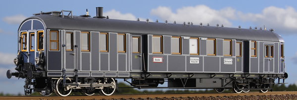 Micro Metakit 08200H - K.Bay.Sts.B Bavarian State Railroad MCCI Steam Powered Railcar
