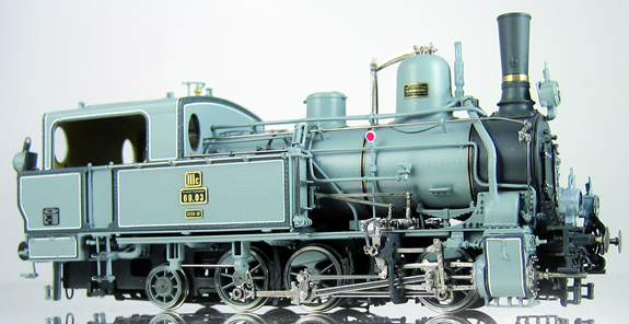 Micro Metakit 08700H - Austrian KkStB Class 69.03 Adhesion/Rack and Pinion Tank Loco