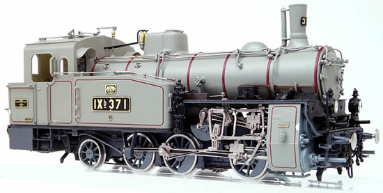 Micro Metakit 11200H - German Steam Locomotive Class IXb with functional Rack & Pinion Drive