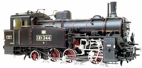Micro Metakit 11201H - German Steam locomotive Class IXb with functional Rack & Pinion Drive