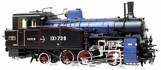 Micro Metakit 11202H - German Steam locomotive Class IXb with functional Rack & Pinion Drive