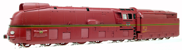 Micro Metakit 11310H - BR 03 193 Streamlined Express Locomotive Red Livery