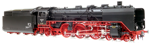 Micro Metakit 11312H - BR 03 161 Express Locomotive Black/Red Livery