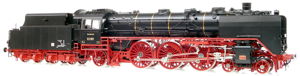 Micro Metakit 11317H - BR 03 001 Express Locomotive Black/Red Livery