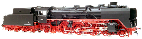 Micro Metakit 11320H - BR 03 194 Express Locomotive Black/Red Livery
