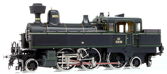 Micro Metakit 13703H - Austrian Steam Locomotive Class 229 of the KkStsB