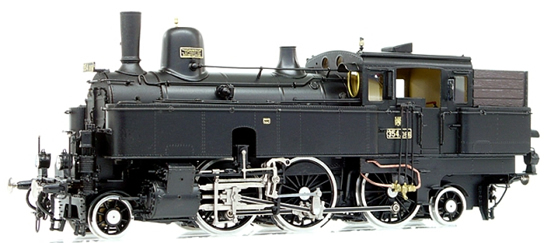 Micro Metakit 13707H - Micro Metakit - Czech  Steam Locomotive Class 354 of the CSD