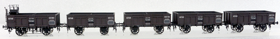 Micro Metakit 14901Ha - Austrian Coal Car Set of the KFNB