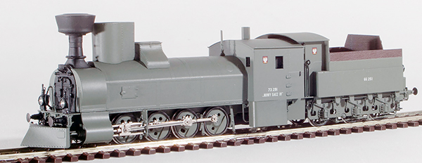 Micro Metakit 15709H - Polish Field Grey Amoured Steam Locomotive Class 73 of the PKP
