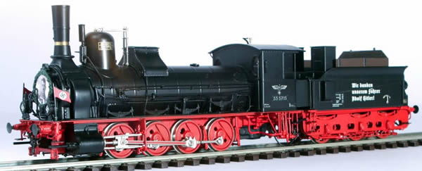 Micro Metakit 15710H - German Steam Locomotive Class 55 of the DRG (Nazi Propaganda)