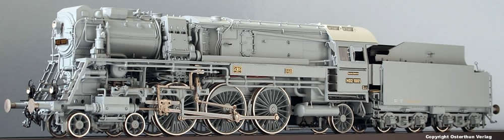Micro Metakit 01300h High Pressure Steam Locomotive Ho2