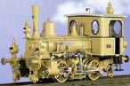 "Class DVI ""Euterpe"" Tank Loco, Ocker Yellow/Blk Livery with White Pin Stripping"