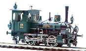 "Class DVI ""Clotho"" Tank Loco #847, Green/Black Livery with White Pin Stripping"
