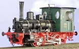 Class DVI Berg Tank Loco #83, Green/Black Livery With White Pin Stripping