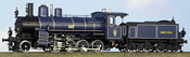 Class E-I Heavy Freight Loco #2064, Dark Blue/Gray and Black Livery