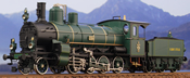 Class E-I Heavy Freight Loco #2063, Green and Black Livery Rebuilt Twin Cylinder Version