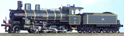 ETAT Class 140-907 French WWI Reparation Locomotive