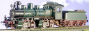 KSStEB Era I Saxonian Class IV Mallet Green/Black Red Brown Livery
