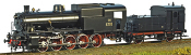 Italian FS 470.01 Heavy Steam Locomotive