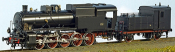 Italian 471.075 Heavy Steam Locomotive