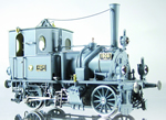 K.P.E.V. Prussian T0 Tank Locomotive Grey Livery
