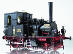 K.P.E.V. Prussian T 0 Tank Locomotive Black Livery