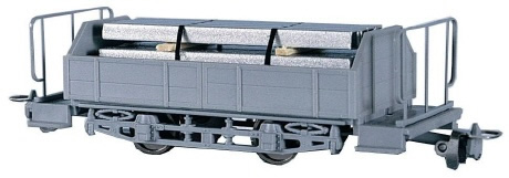Navemo 21720530 - Swiss City of Zurich Goods Wagon with Steel Tubes