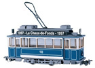 Swiss City of Zurich Vintage Electric Street Car Class Ce 2/2 103 (motorized)