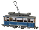 Swiss City of Zurich Vintage Electric Street Car Ce 2/2 97 (motorized)