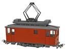 Swiss City of Zurich Electric Street Car Class Xe 2/2 27 (non-motorized)