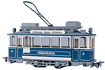 Swiss City of Zurich Vintage Electric Street Car Class Ce 2/2 8 (motorized)