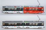 Swiss City of Zurich Intercity-Tram Electric Street Car Set Class Be 4/6 - 2028 & 2305 (motorized)