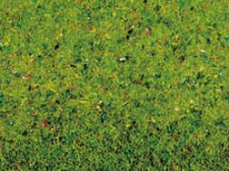 Noch 00140 - Flowered Grass Mat, 100 x 75 cm