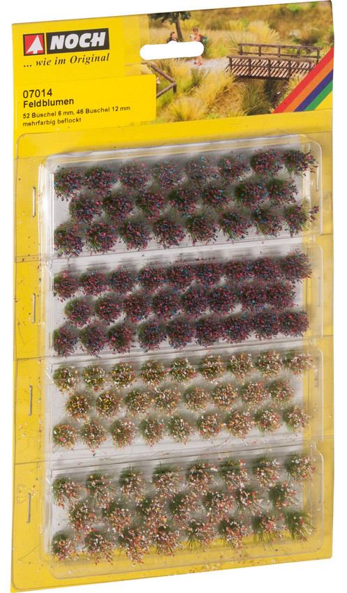Noch 07014 - Grass Tufts Wild Flowers