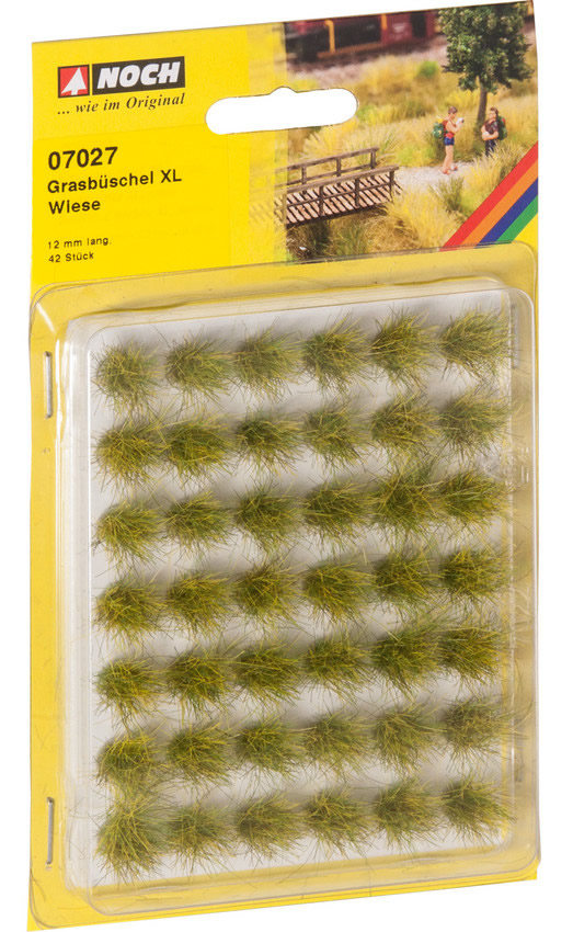 Noch 07027 - Grass Tufts XL Meadow