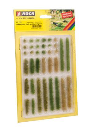 Noch 07125 - Grass Strips light and dark green