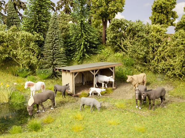 Noch 12742 - Cattle Shelter
