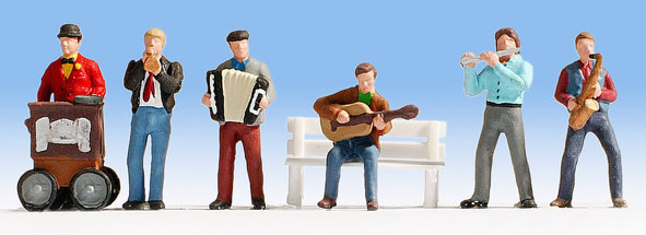 Noch 12955 - Street Musicians