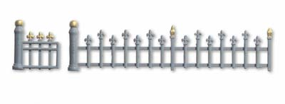 Noch 13130 - Wrought iron fence
