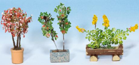 Noch 14014 - Ornamental Plants in Tubs