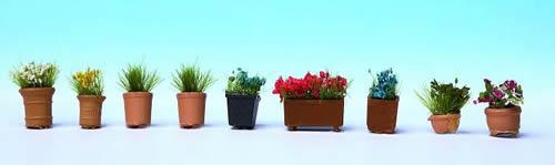 Noch 14031 - Flowers in Pots