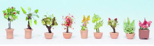 Noch 14082 - Ornamental Plants in Tubs