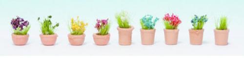 Noch 14084 - Flowers in Pots