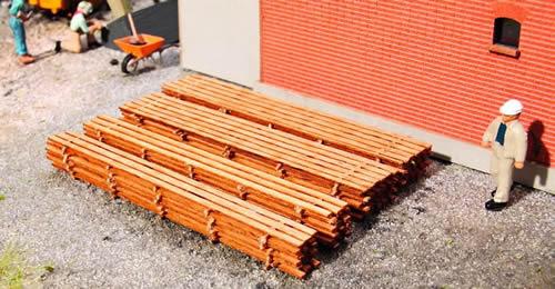 Noch 14212 - Piles of Planks, 4 pcs.
