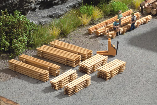 Noch 14214 - Piles of Planks, 8 pcs.