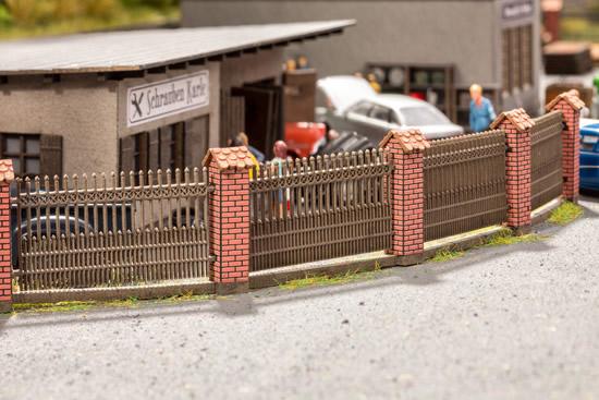 Noch 14235 - Fence with Brick Columns