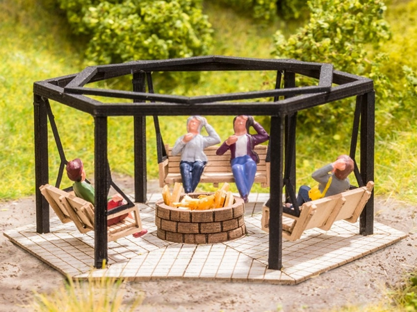 Noch 14369 - Barbecue Place with Swings