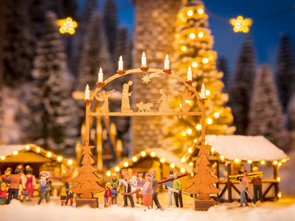 Noch 14391 - Christmas Market Entry Arch