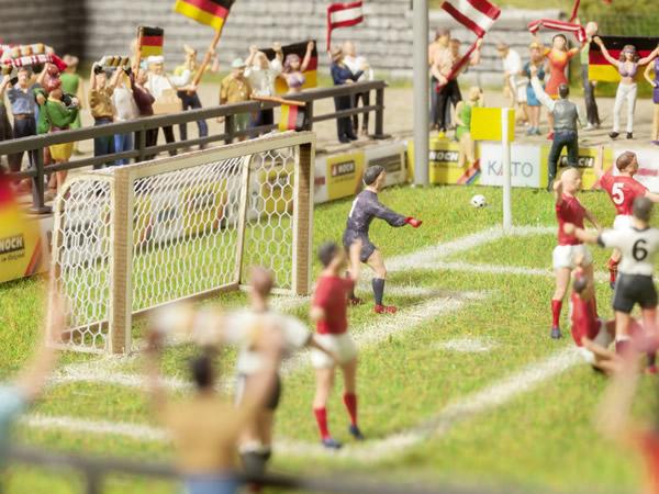 Noch 14399 - Football Goals and Corner Flags